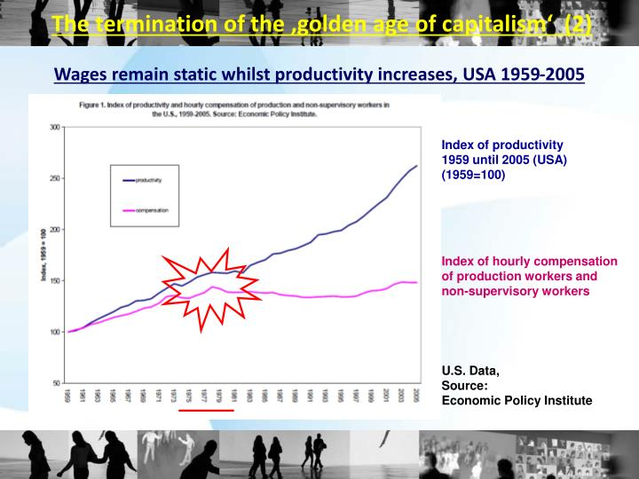 The termination of the 'golden age of capitalism'  (2)