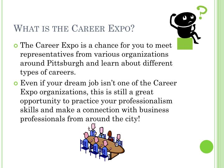 What is the career expo