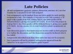 late policies