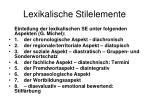 lexikalische stilelemente1
