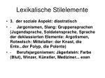 lexikalische stilelemente4