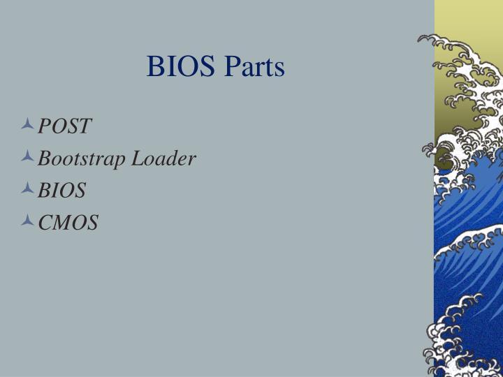 BIOS Parts