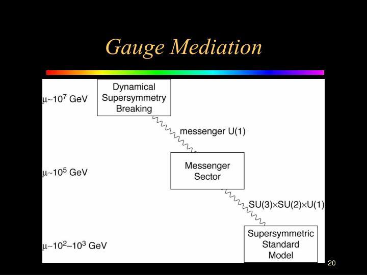 Gauge Mediation