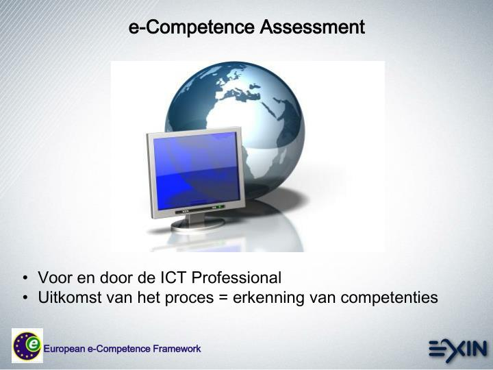 e-Competence Assessment