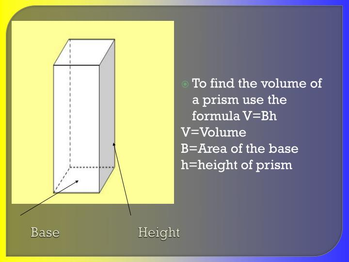 Base                       Height