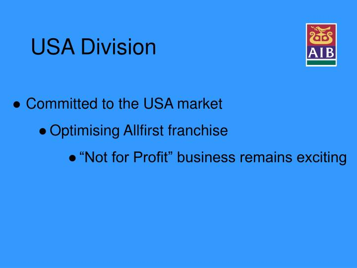 USA Division