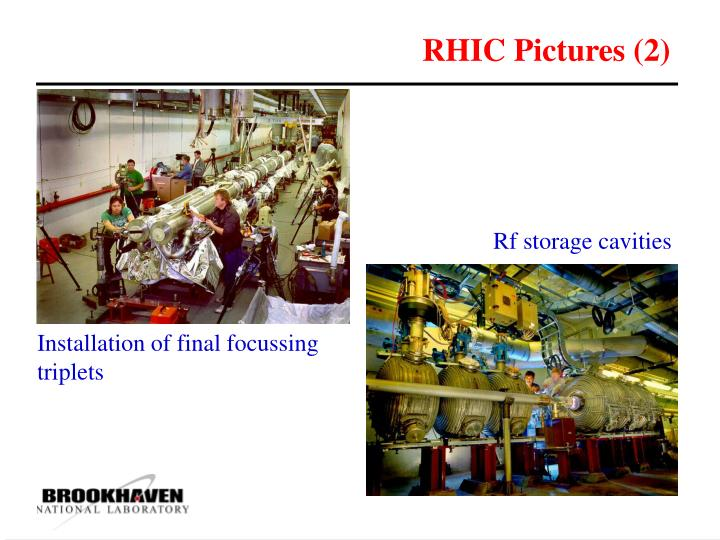 RHIC Pictures (2)
