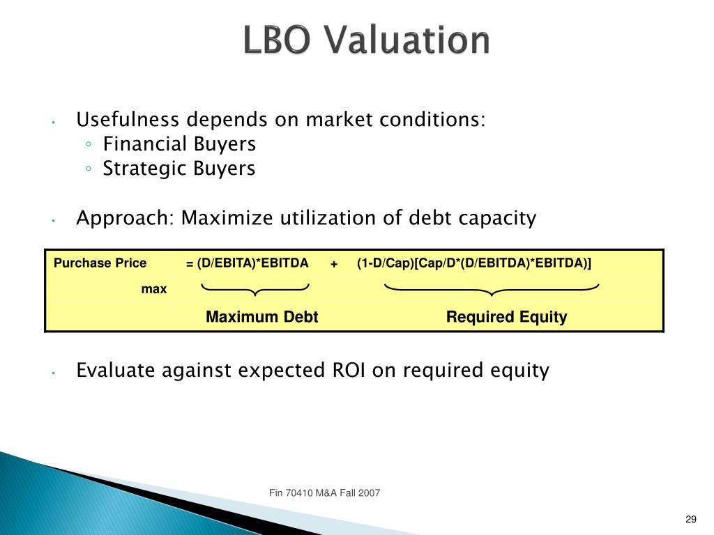 PPT - Valuation PowerPoint Presentation - ID:4095112