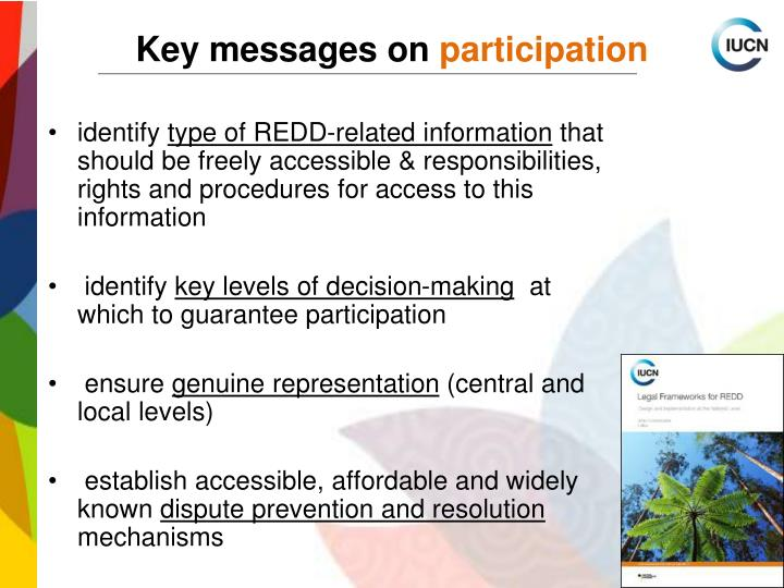 Key messages on