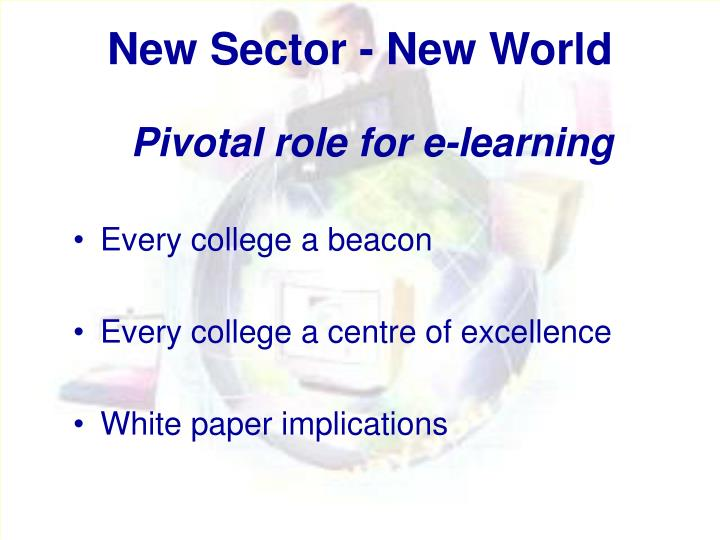 New Sector - New World