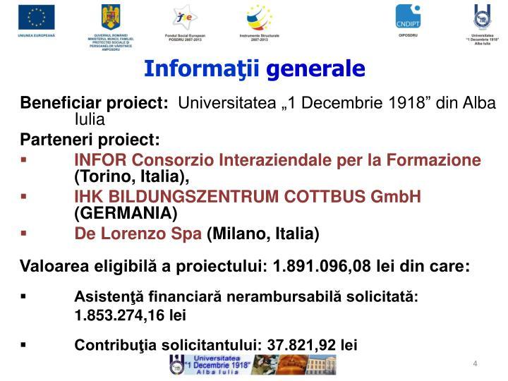 Informaţii