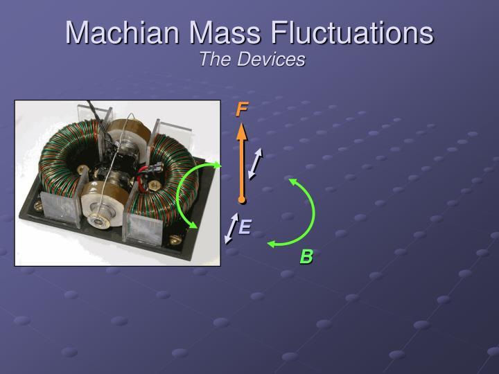 Machian Mass Fluctuations