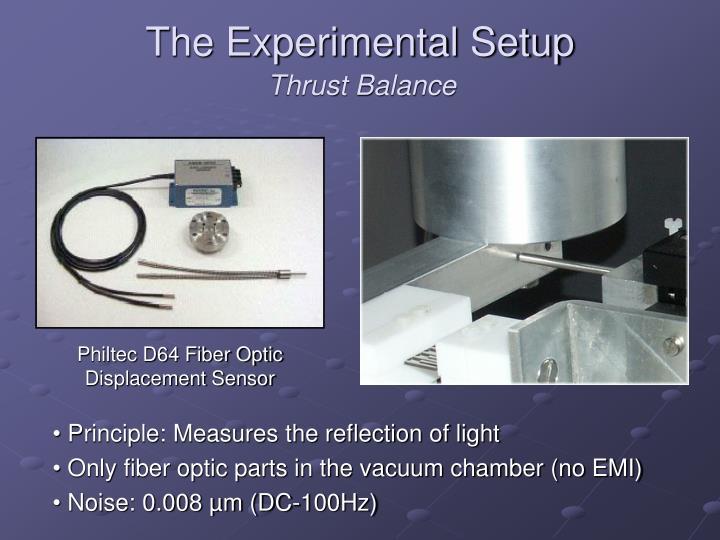 The Experimental Setup