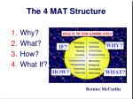 the 4 mat structure