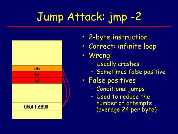 Jump attack jmp 2
