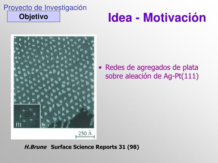 Idea - Motivación