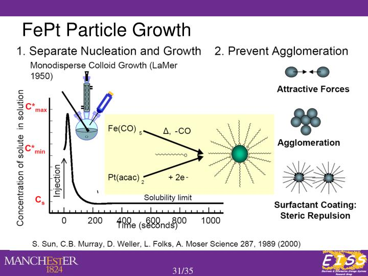 FePt Particle Growth