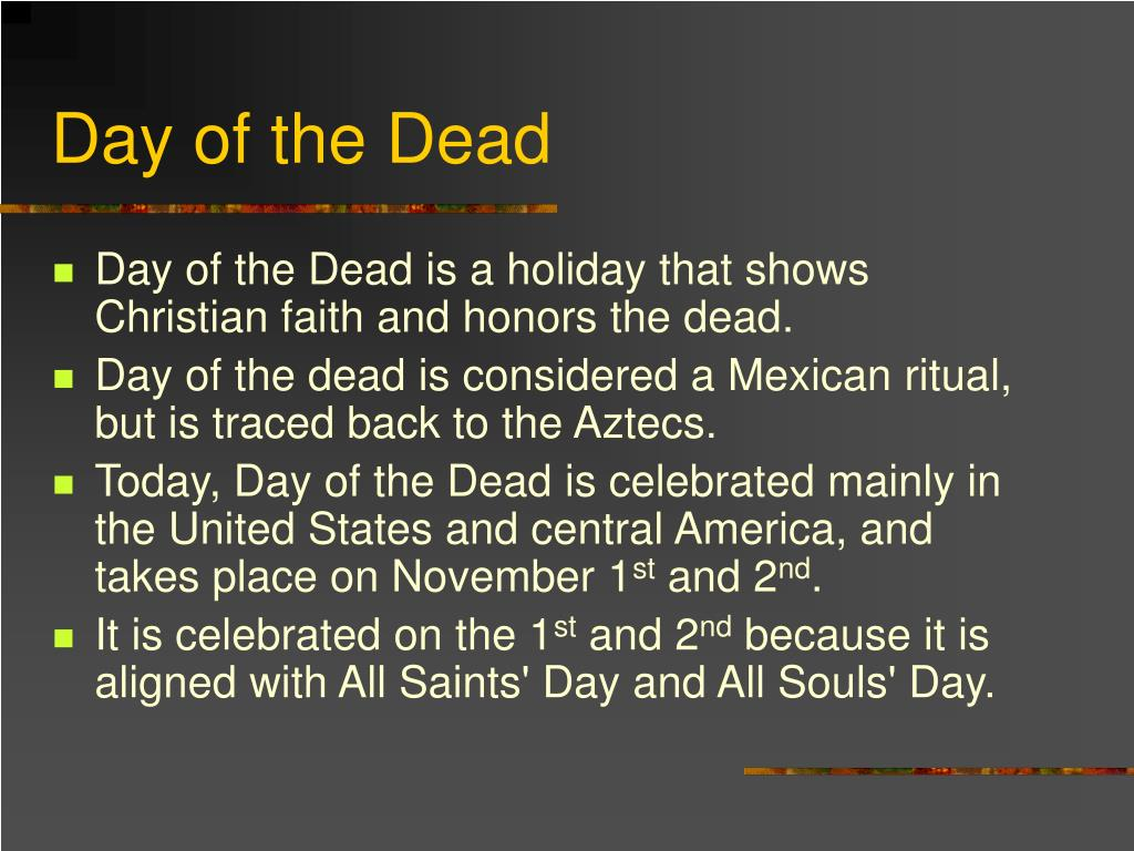 ppt day of the dead powerpoint presentation id 4097133