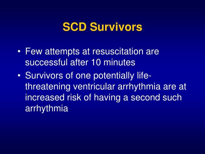 SCD Survivors