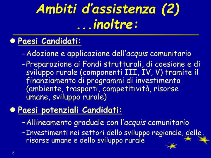 Ambiti d'assistenza (2)