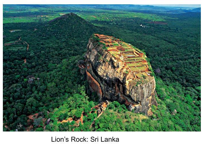 Lion's Rock: Sri Lanka