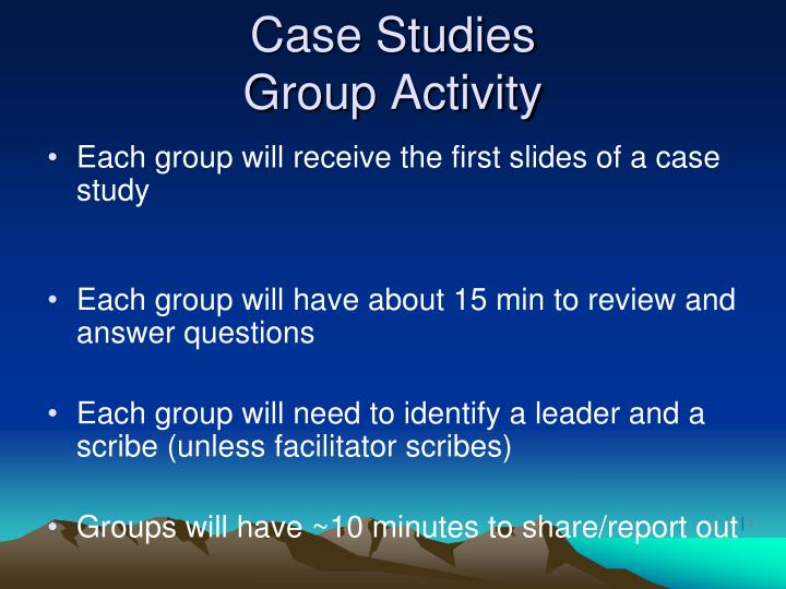leadership group case study Leadership strategies group has a rich history of making leaders and organizations stronger through the use of our cutting edge systems.