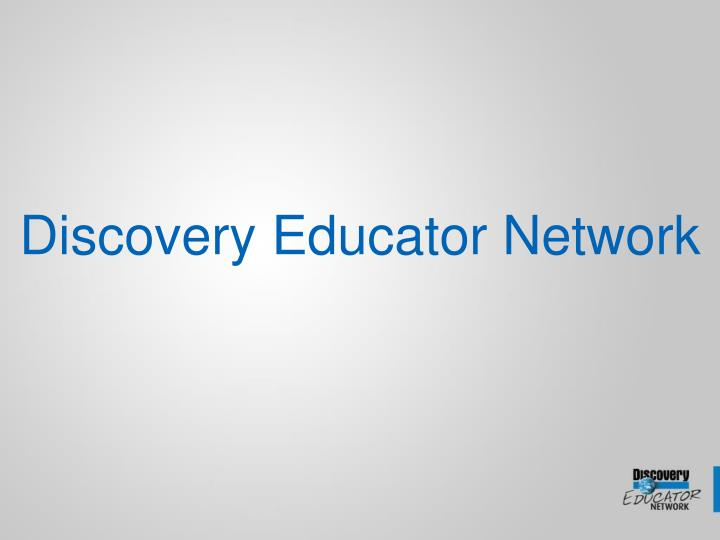 discovery educator network n.