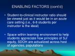 enabling factors cont d2
