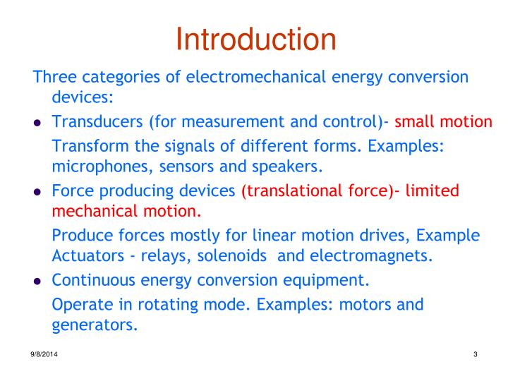 Ppt Chapter 2 Electromechanical Energy Conversion Powerpoint