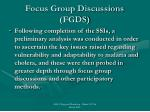 focus group discussions fgds1