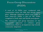 focus group discussions fgds3