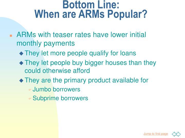 Bottom Line: