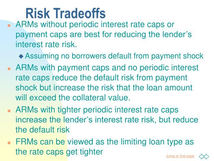 Risk Tradeoffs