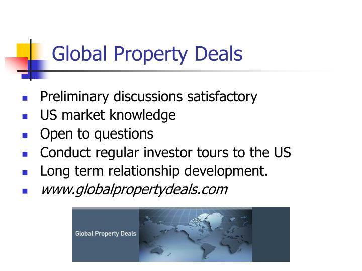 Global Property Deals