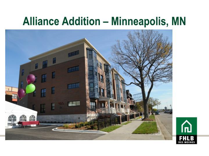 Alliance Addition – Minneapolis, MN