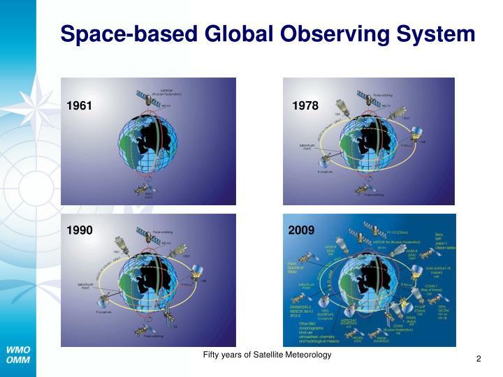 Space based global observing system