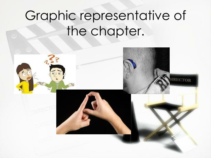 Graphic representative of the chapter.