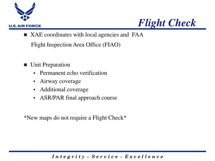 Flight Check
