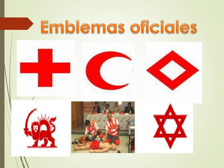 Emblemas oficiales