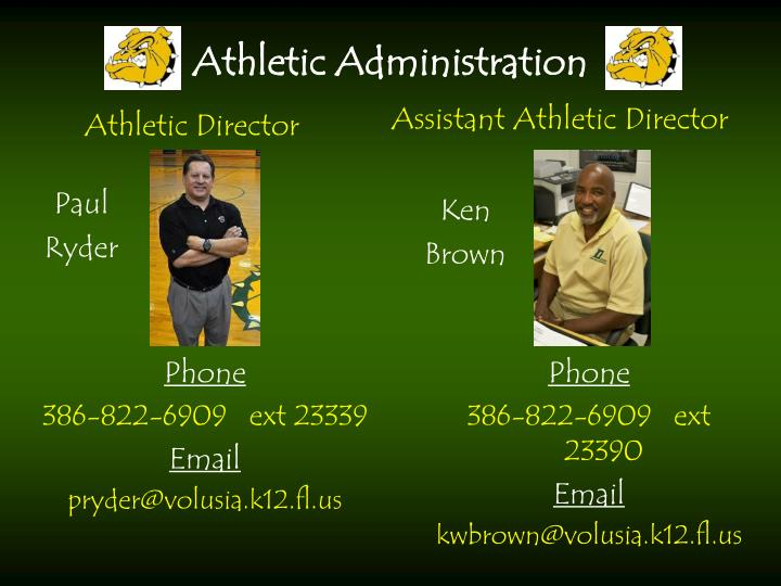 Athletic Administration