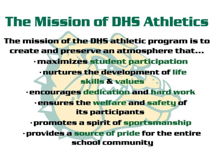 Athletic philosophy