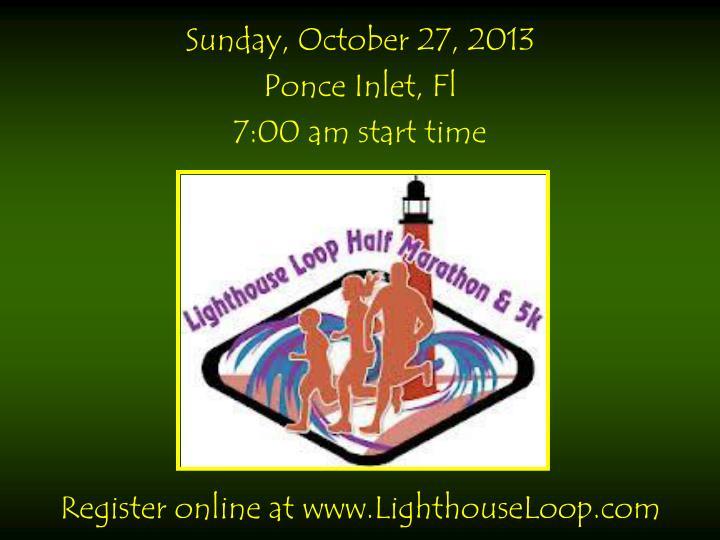 Sunday, October 27, 2013
