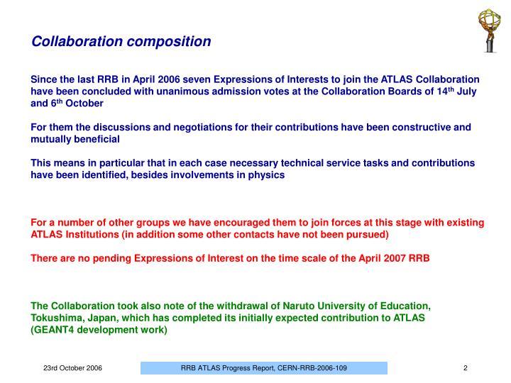 Collaboration composition