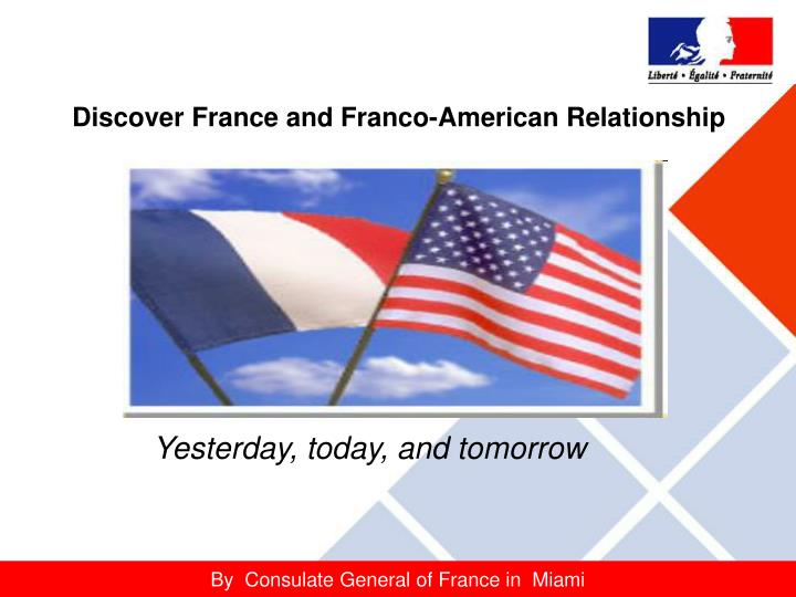 discover france and franco american relationship n.