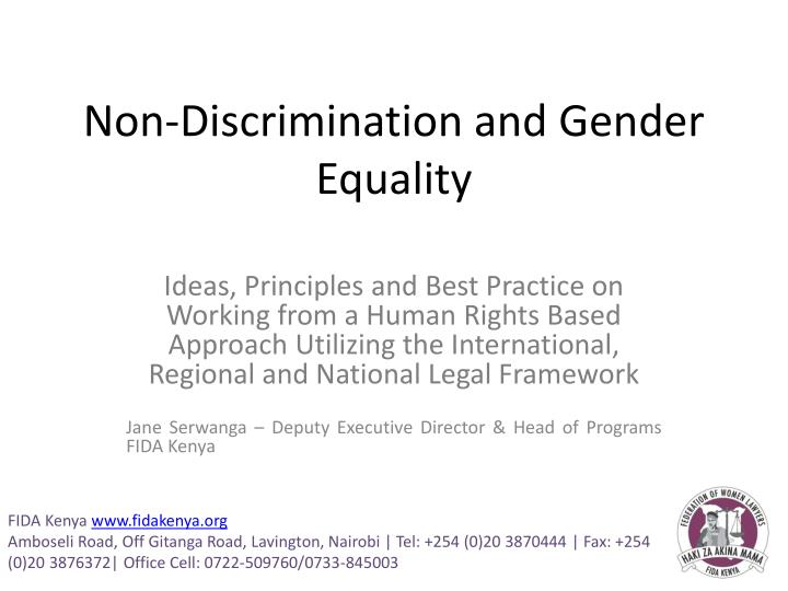 discrimination and the legal process Under federal & new york state laws, discrimination occurs when you are treated differently in a way that causes an adverse impact to you, based on your: race, gender, age, disability, religion, national origin, political, affiliation or belief, genetics, arrest and conviction record, marital status, genetic, predisposition and carrier status.