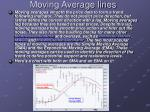 moving average lines