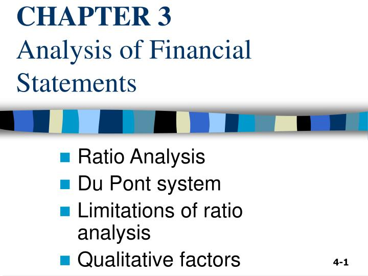 ratio analysis of financal statements essay This paper seeks to prepare a financial statement analysis of the attached income statement and the balance sheet using appropriate business/financial vocabulary with comments on significant amounts, trends, and relationships.