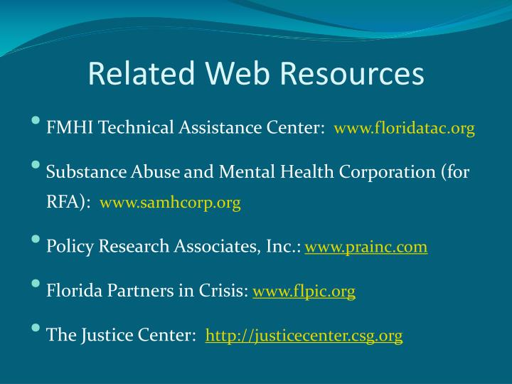 Related Web Resources
