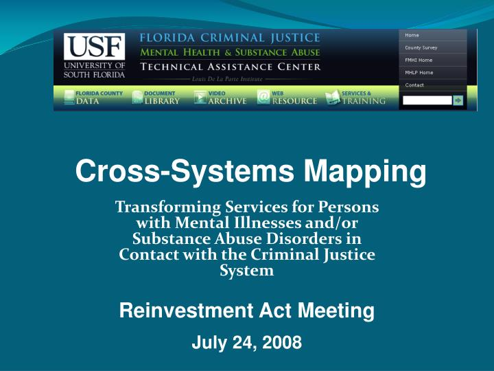 Cross-Systems Mapping