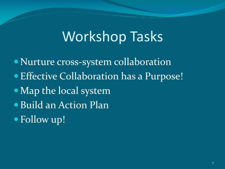 Workshop Tasks